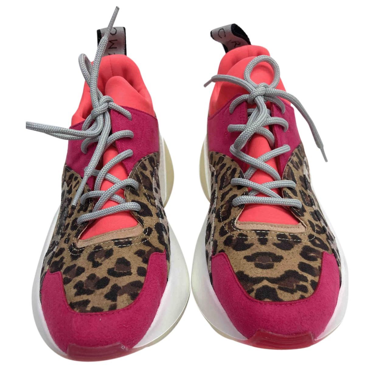 Stella Mccartney \N Sneakers in  Bunt Leinen