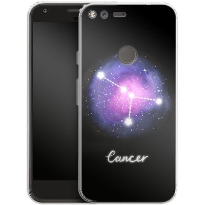 Google Pixel Silikon Handyhuelle - CANCER von Becky Starsmore