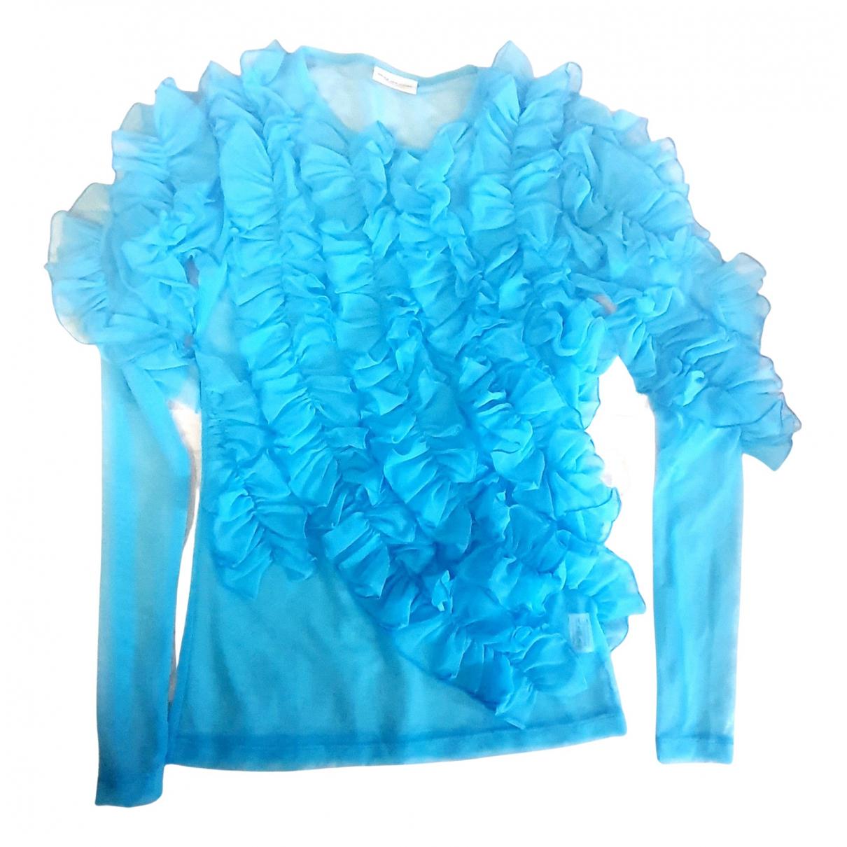 Dries Van Noten - Top   pour femme - turquoise