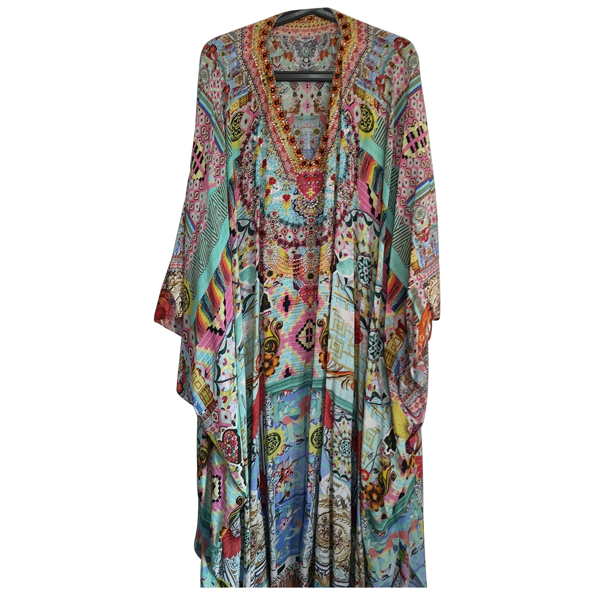 Camilla \N Multicolour Silk dress for Women One Size FR