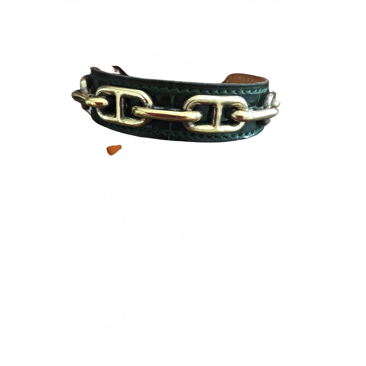 Hermès Chaîne dAncre Gold Metal bracelet for Women \N