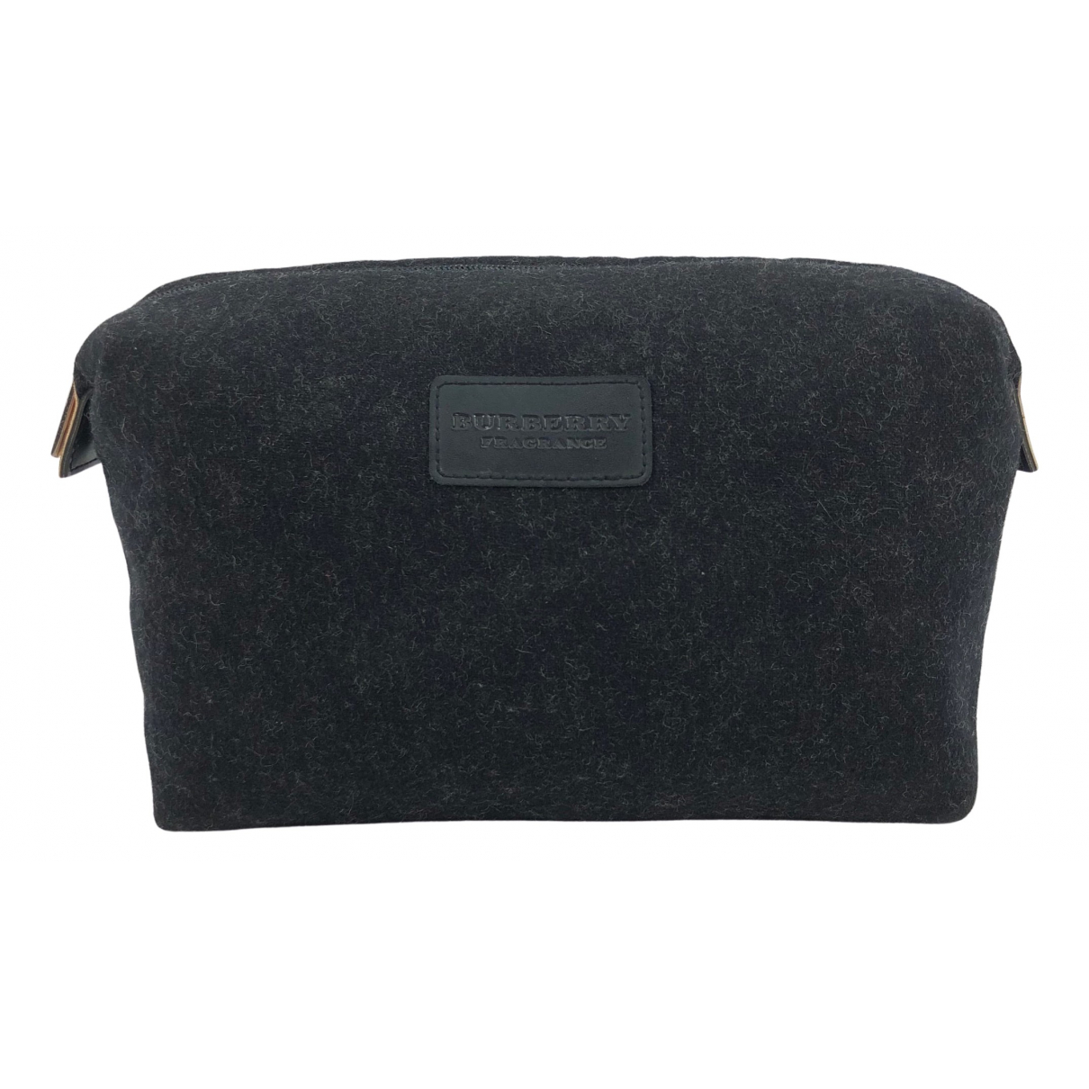Burberry N Grey Wool Travel bag for Women N