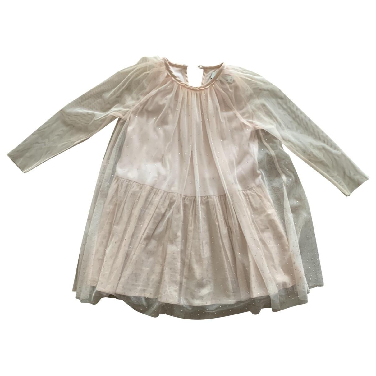 Stella Mccartney \N Kleid in  Rosa Mit Pailletten