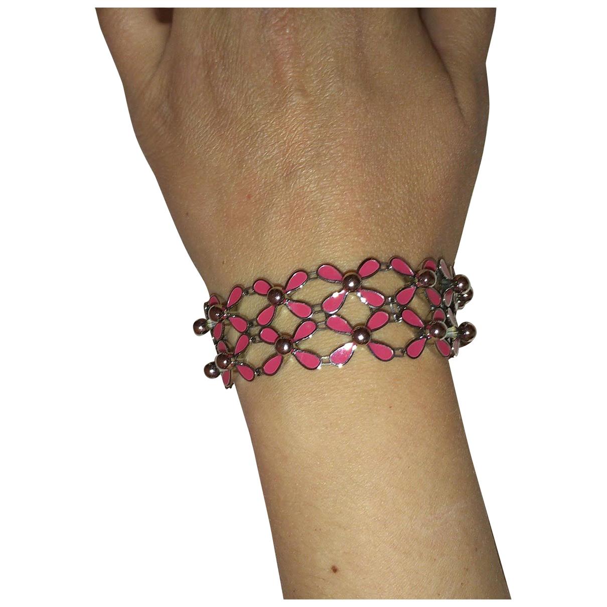 Swatch - Bracelet   pour femme en acier - rose