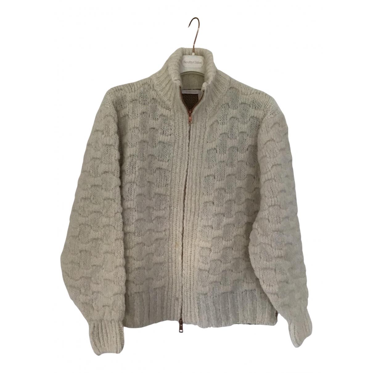 See By Chloe - Pull   pour femme en laine - beige