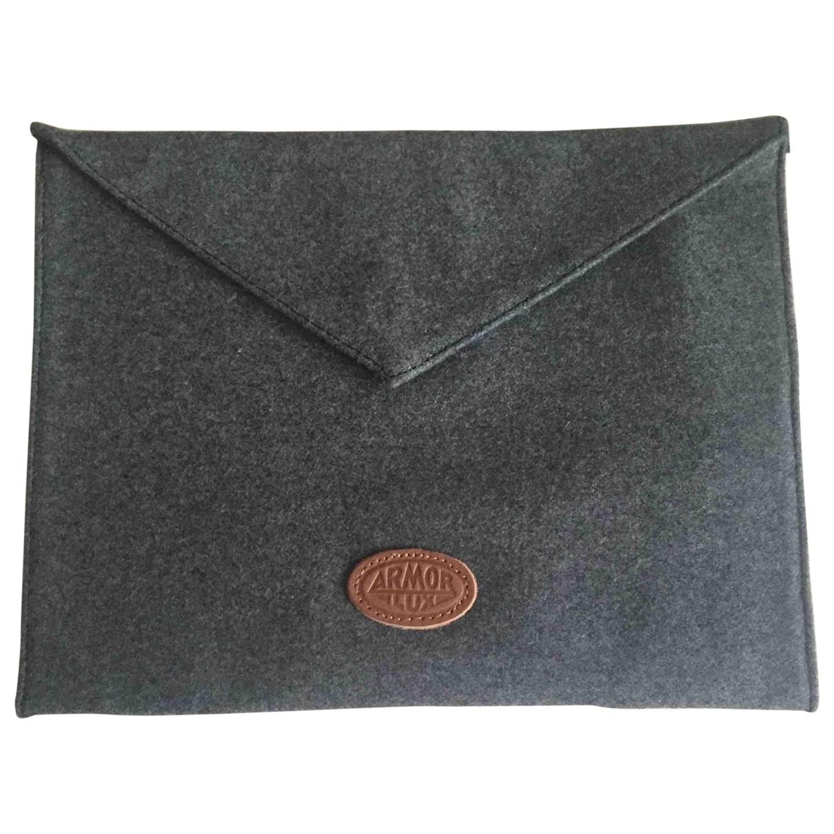Armor-lux \N Clutch in  Grau Wolle
