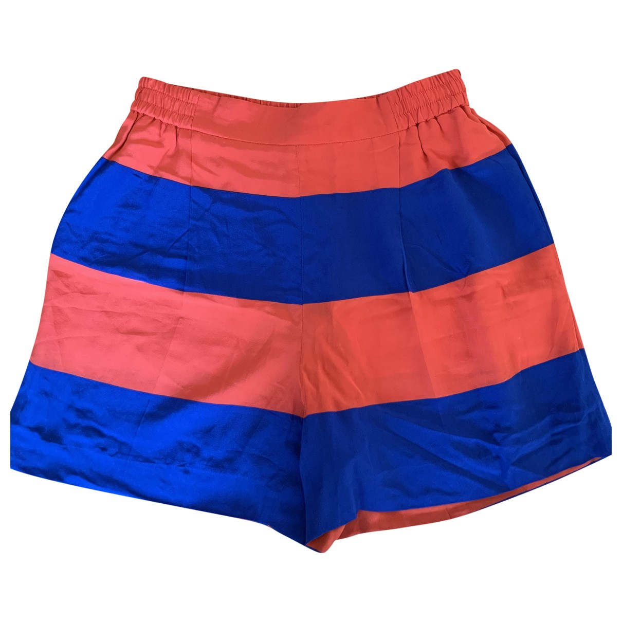 Stella Mccartney \N Shorts in  Bunt Seide