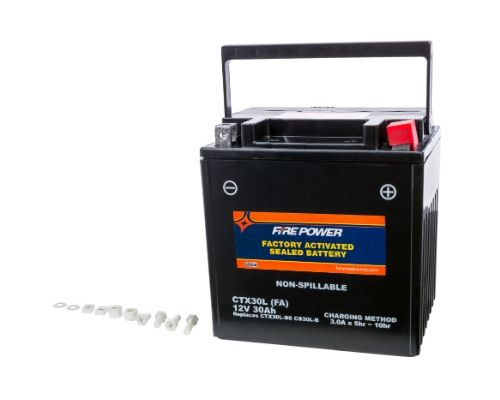Fire Power Parts 49-2275 Battery Ctx30l Sealed Factory Activated 49-2275