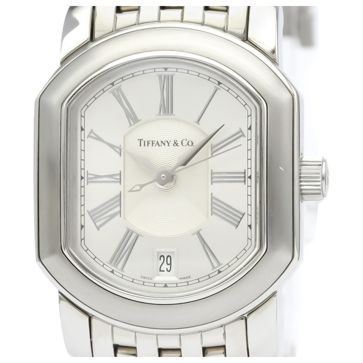 Tiffany & Co \N Uhr in  Silber Stahl