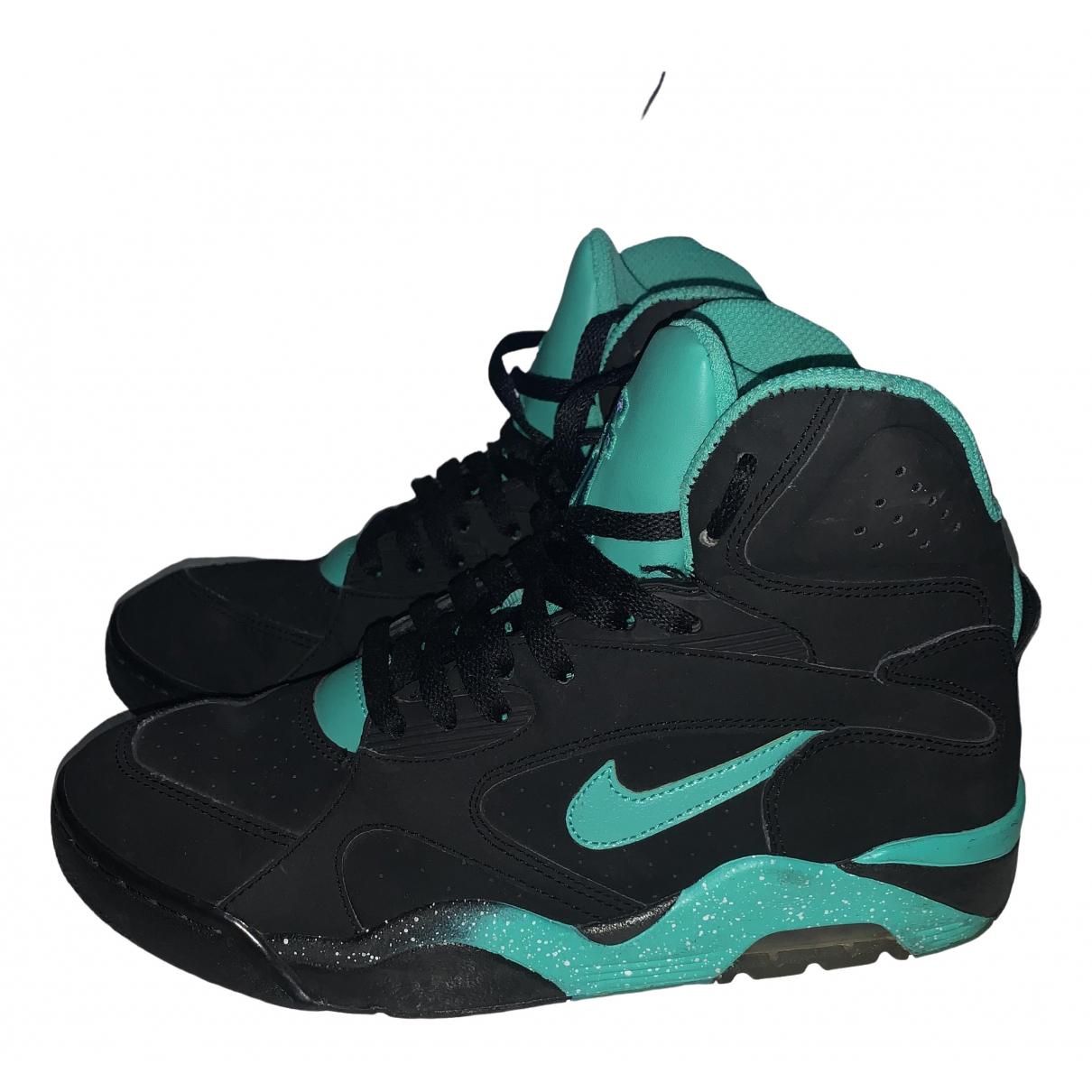 Nike \N Black Suede Trainers for Men 41 EU