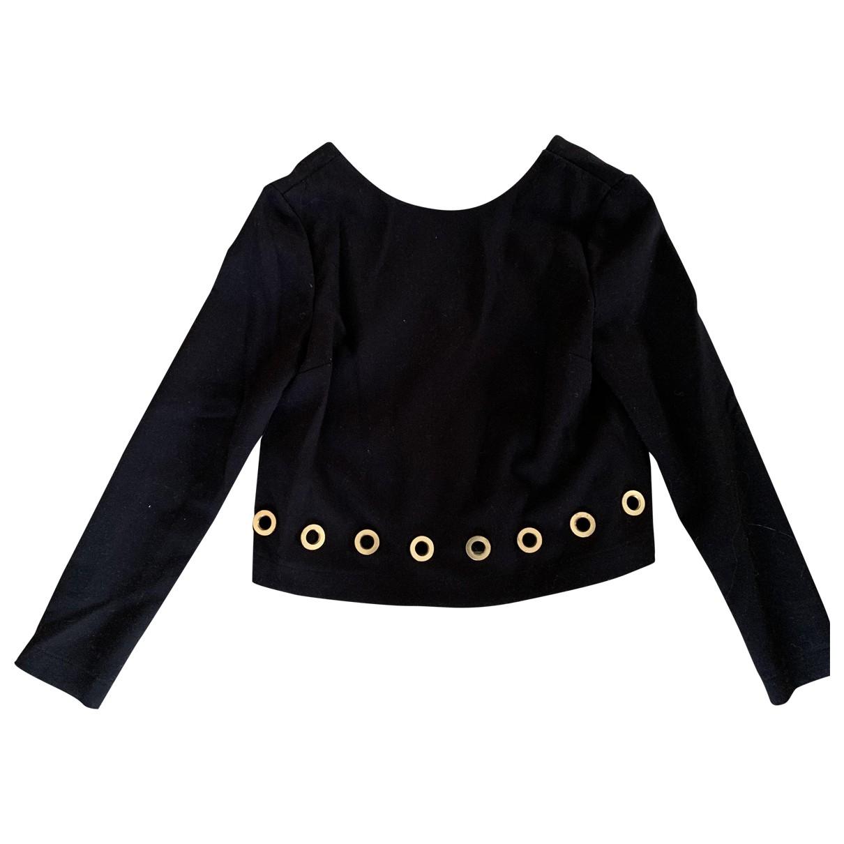 Rachel Zoe - Pull   pour femme en coton - noir