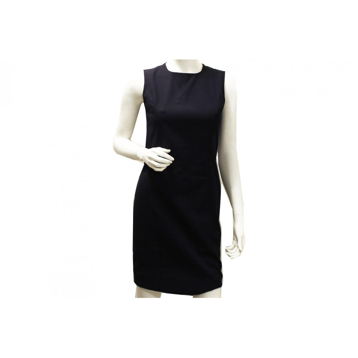 Chanel \N Kleid in  Marine Baumwolle