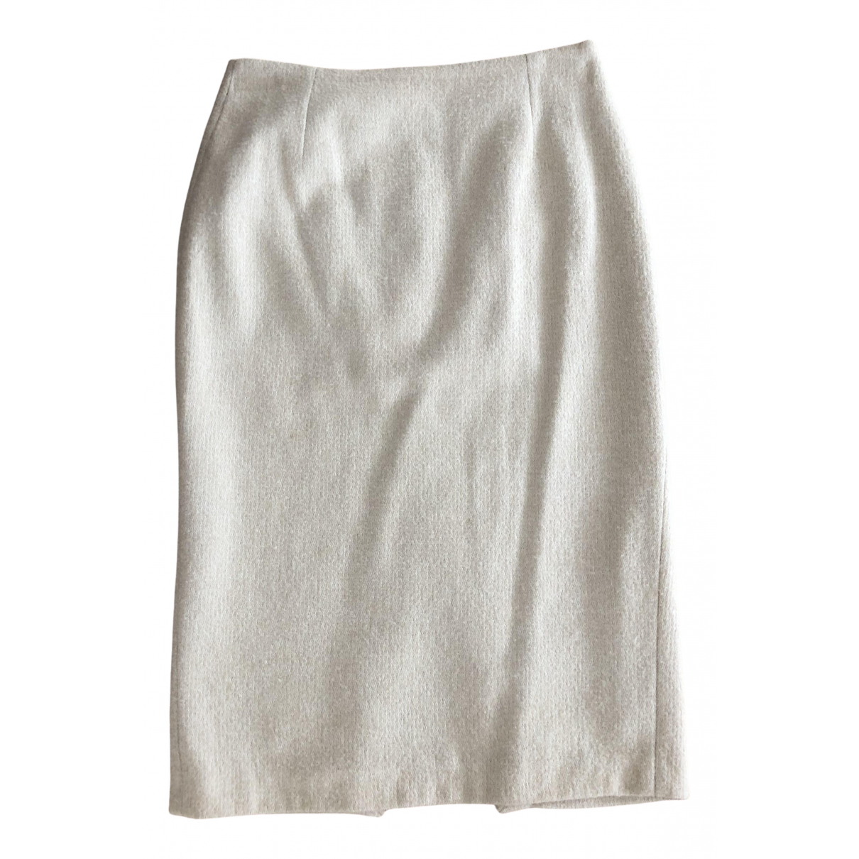 Zara N Ecru Wool skirt for Women 36 FR