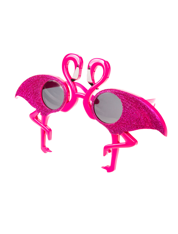 Kostuemzubehor Brille Flamingo Farbe: pink