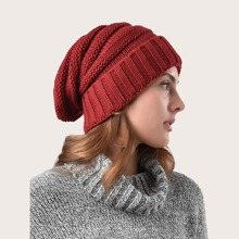 Simple Knitted Beanie