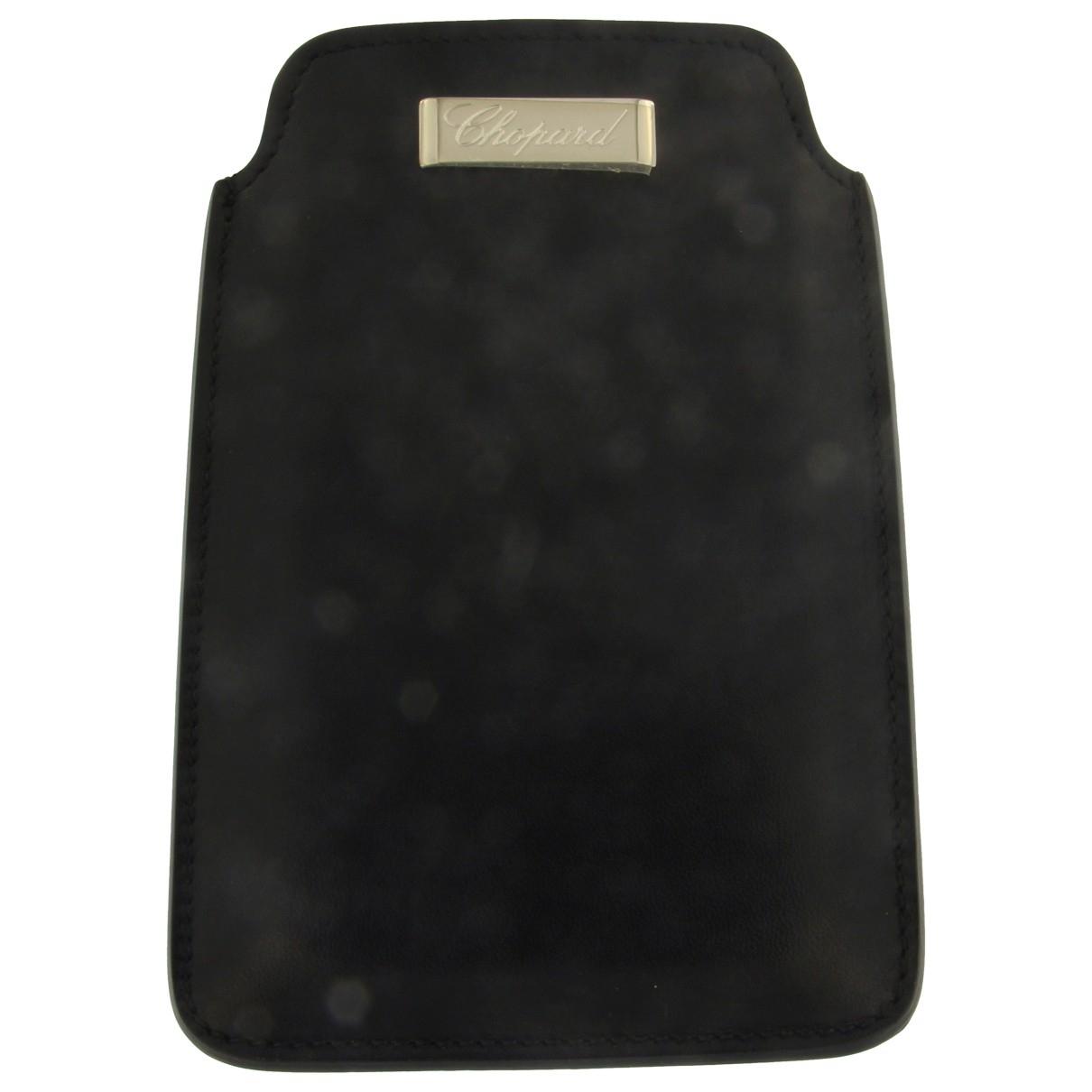 Chopard - Accessoires   pour lifestyle en cuir - noir