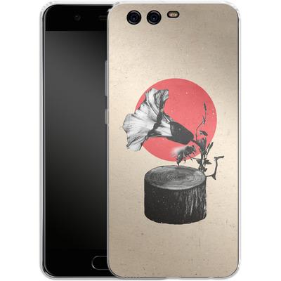 Huawei P10 Silikon Handyhuelle - Gramophone von Ali Gulec