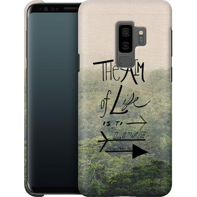 Samsung Galaxy S9 Plus Smartphone Huelle - Aim of Life von Leah Flores