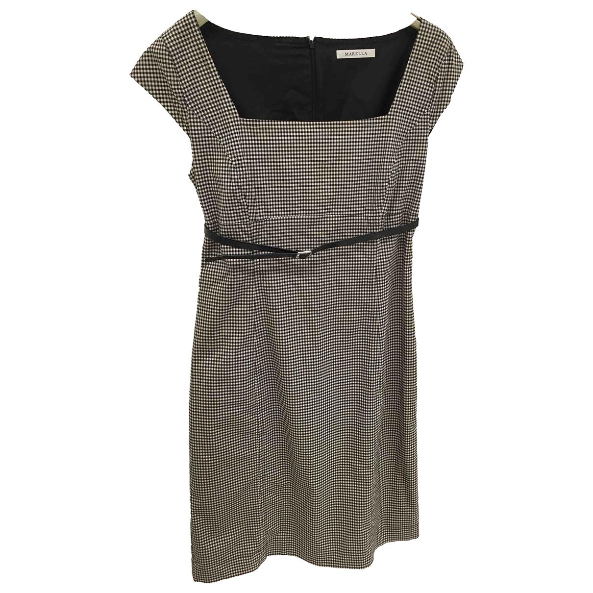 Marella \N Kleid in Baumwolle - Elasthan