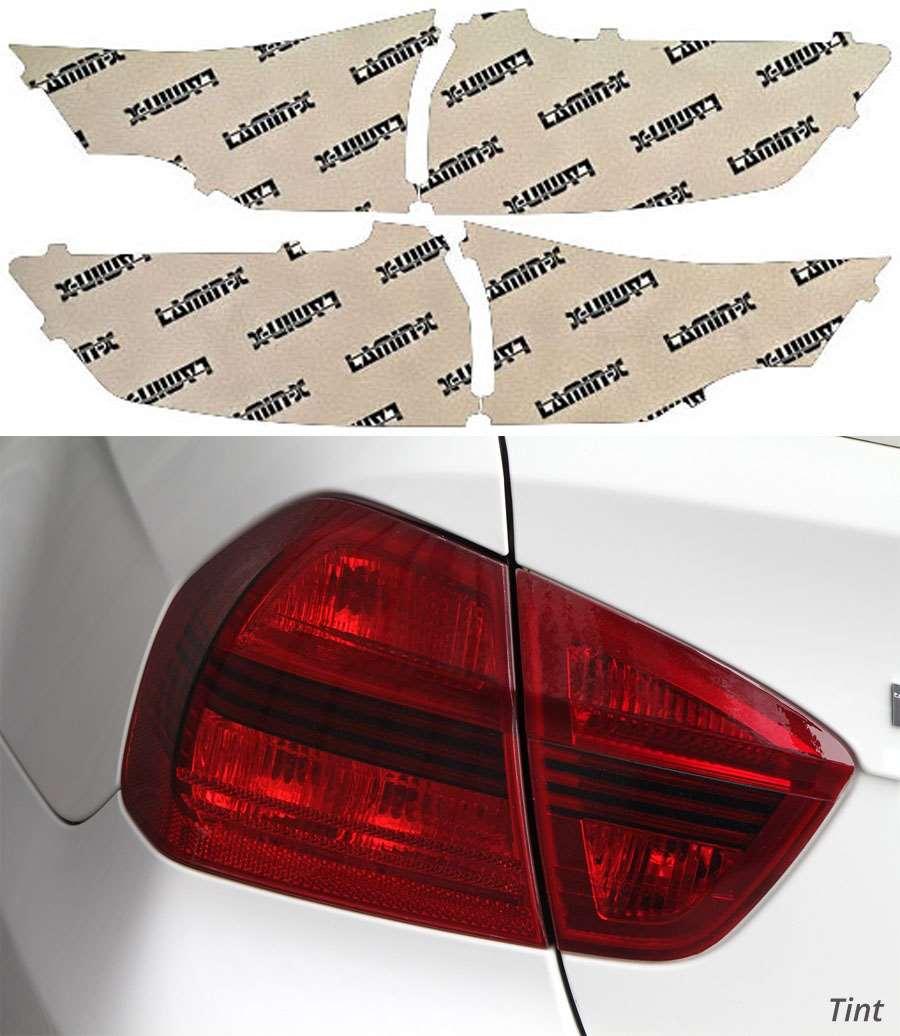 Ford Edge 2015-2021 Tint Tail Light Covers Lamin-X F253T