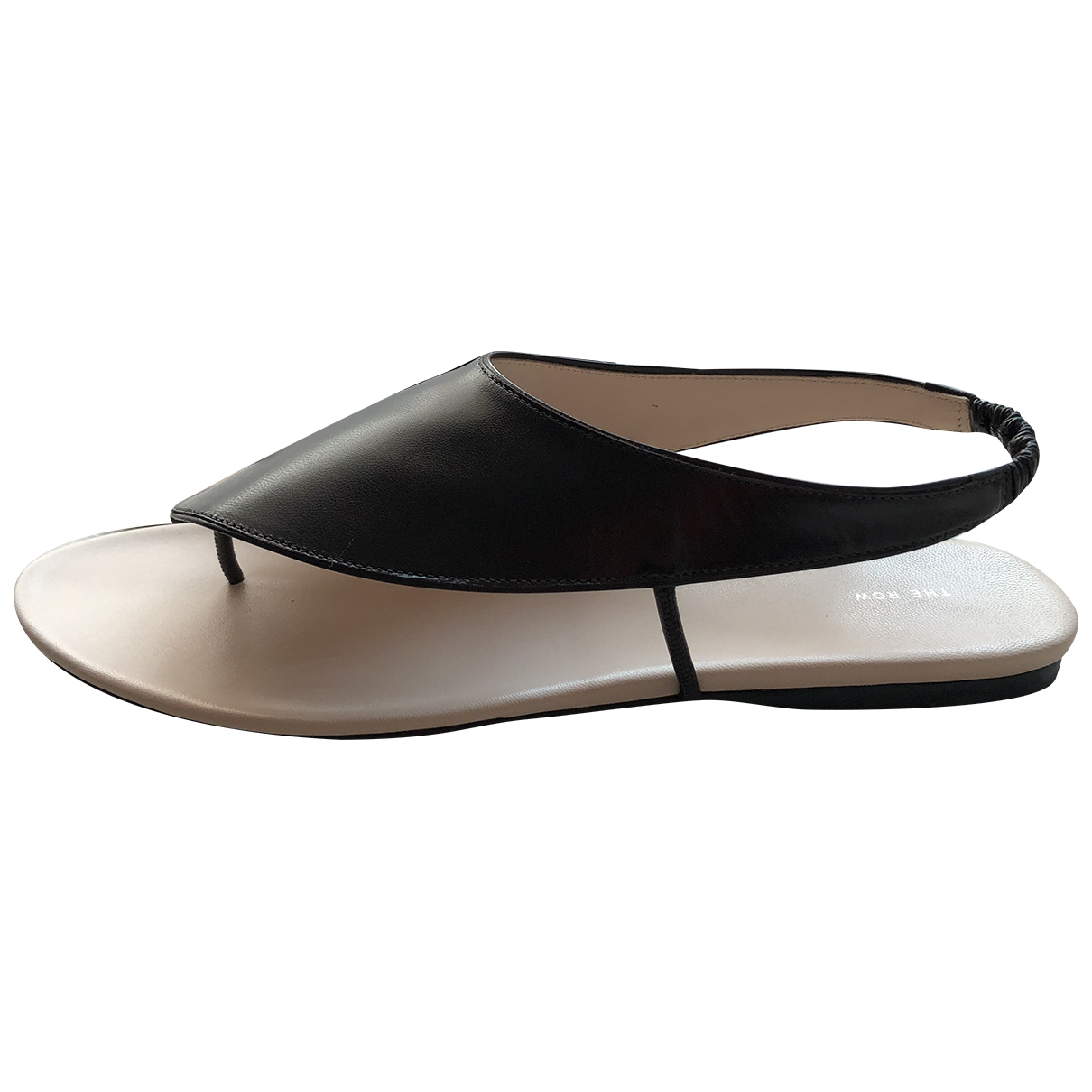 The Row Ravello Brown Leather Sandals for Women 39 EU