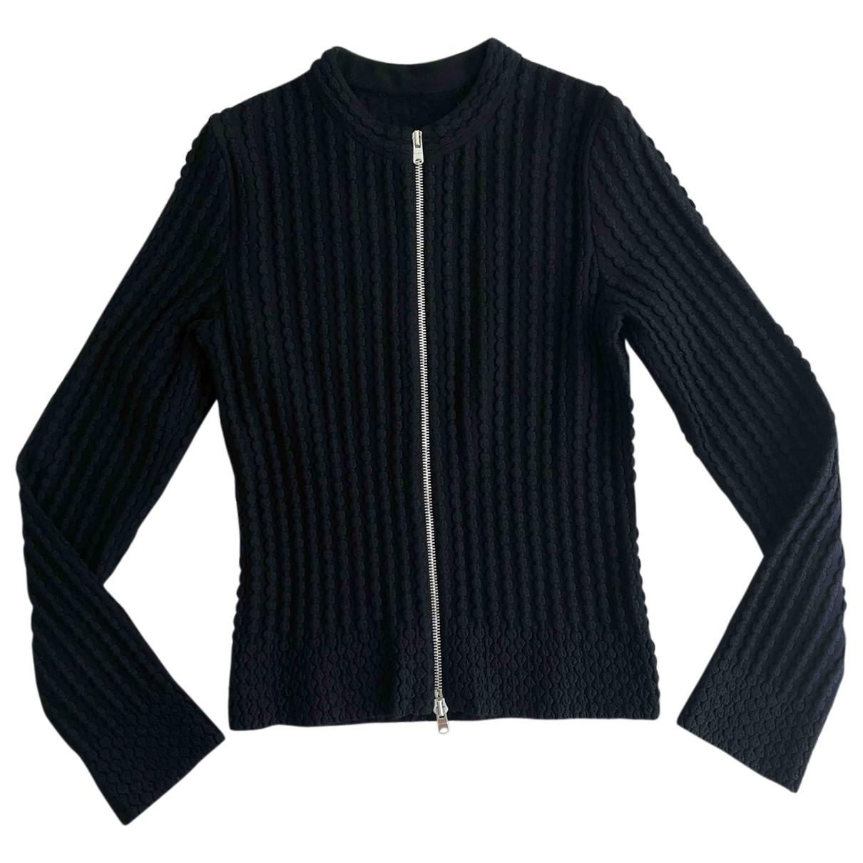 Alaia - Pull   pour femme en laine - noir