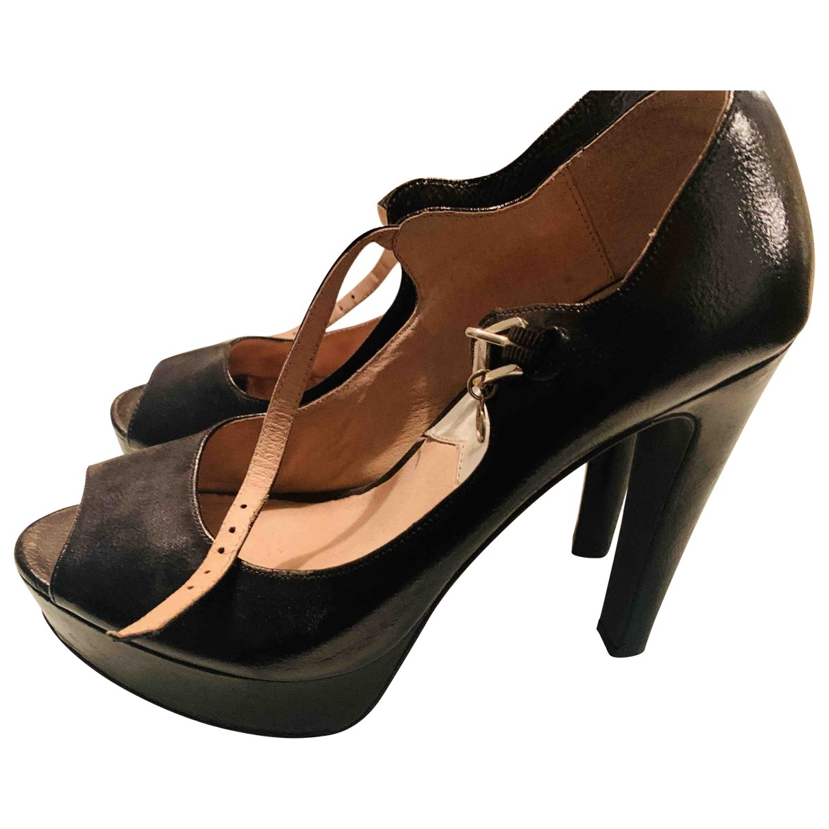 Michael Kors \N Black Leather Heels for Women 9 US