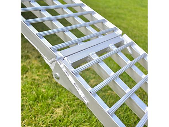 Budge 8' Aluminum Atv/utv Ramp - Silver
