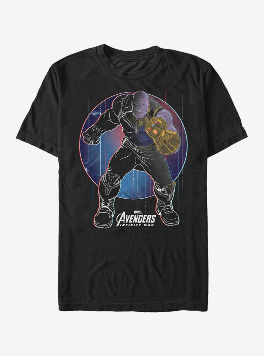 Marvel Avengers: Infinity War Thanos Circle T-Shirt
