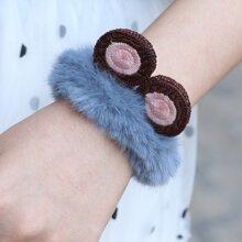 Girls Fluffy Bracelet