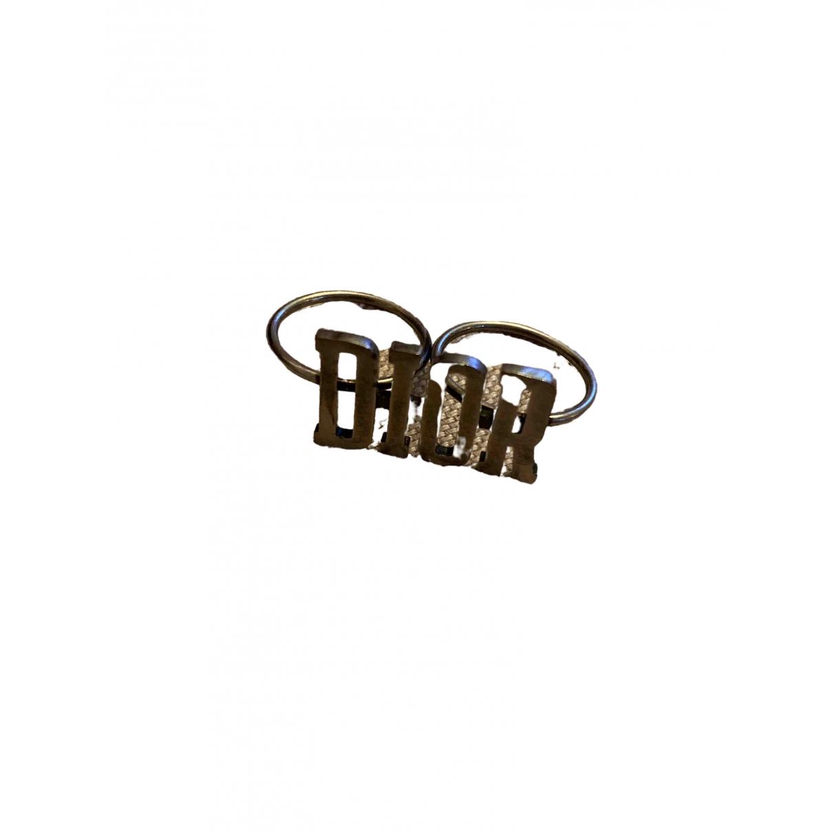 Dior - Bague Monogramme pour femme en metal - argente
