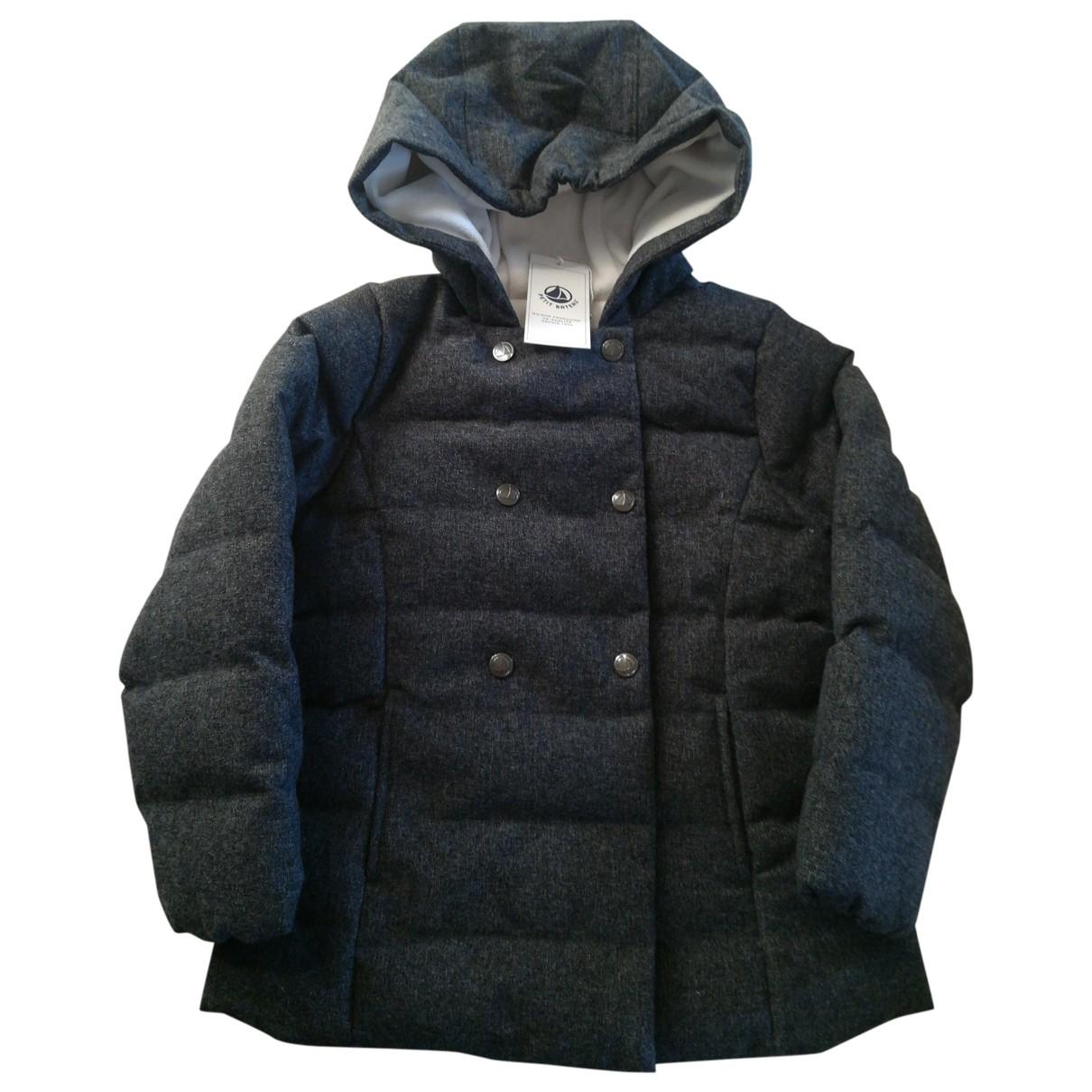 Petit Bateau - Blousons.Manteaux   pour enfant - gris