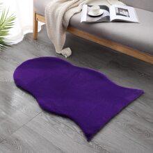 Solid Color Plush Carpet
