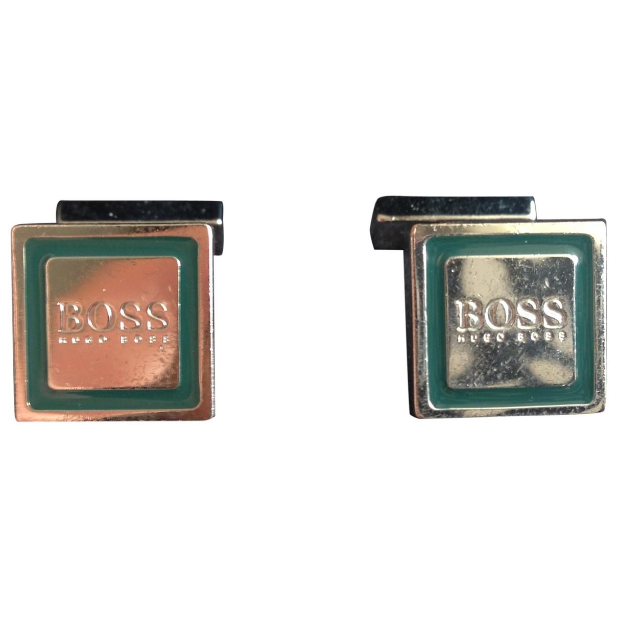 Hugo Boss \N Manschettenknopfe in  Silber Metall