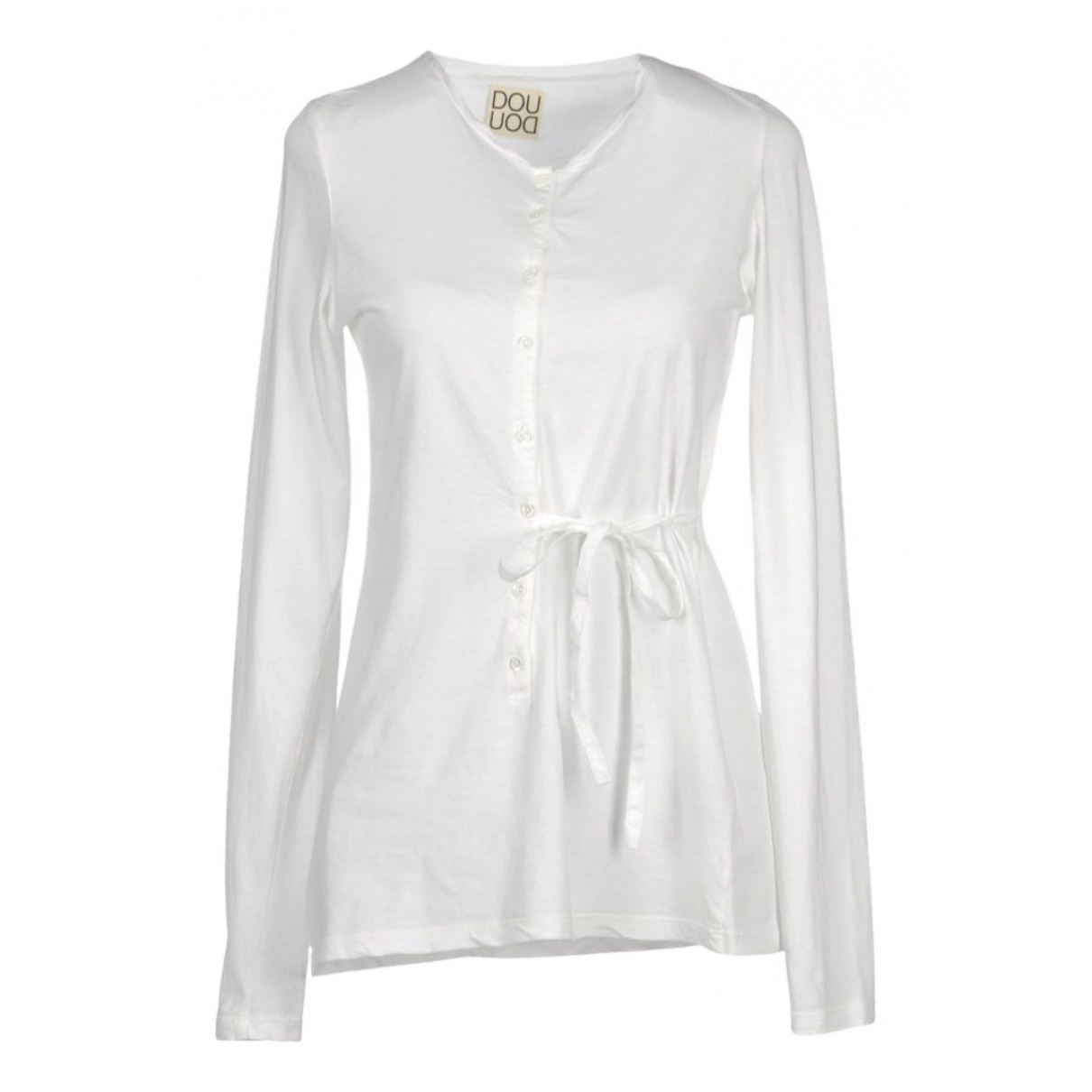 Douuod \N White Cotton  top for Women 44 FR