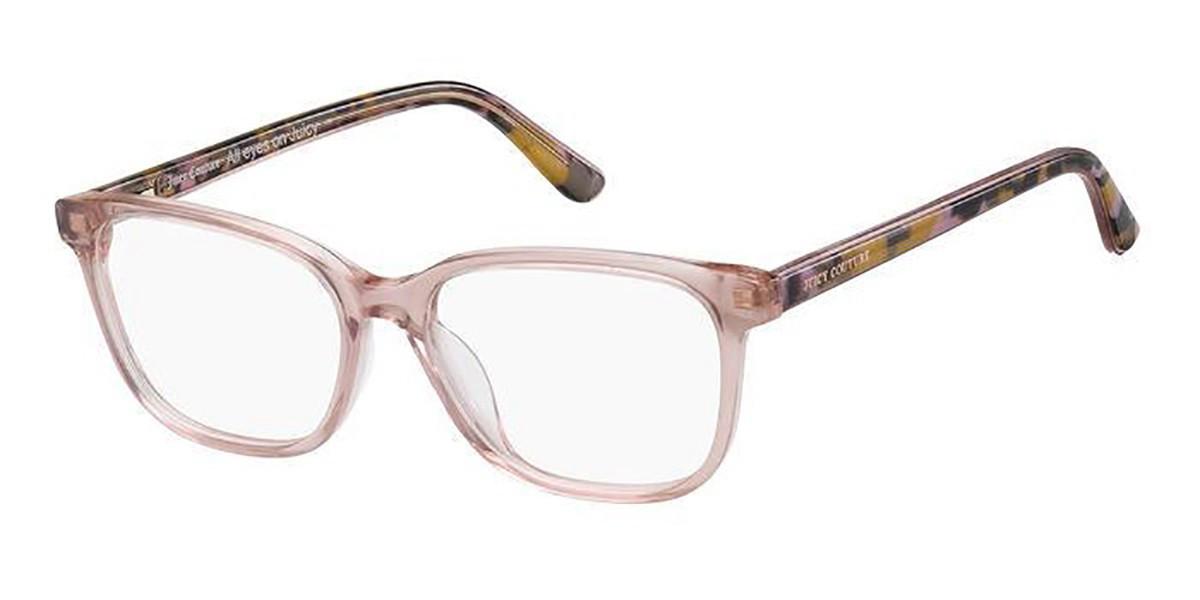 Juicy Couture JU 213 3DV Women's Glasses Pink Size 51 - Free Lenses - HSA/FSA Insurance - Blue Light Block Available
