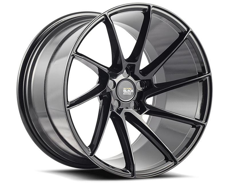 Savini BM15-22105520G3879L di Forza Gloss Black BM15 Left Wheel 22x10.5 5x120 38mm