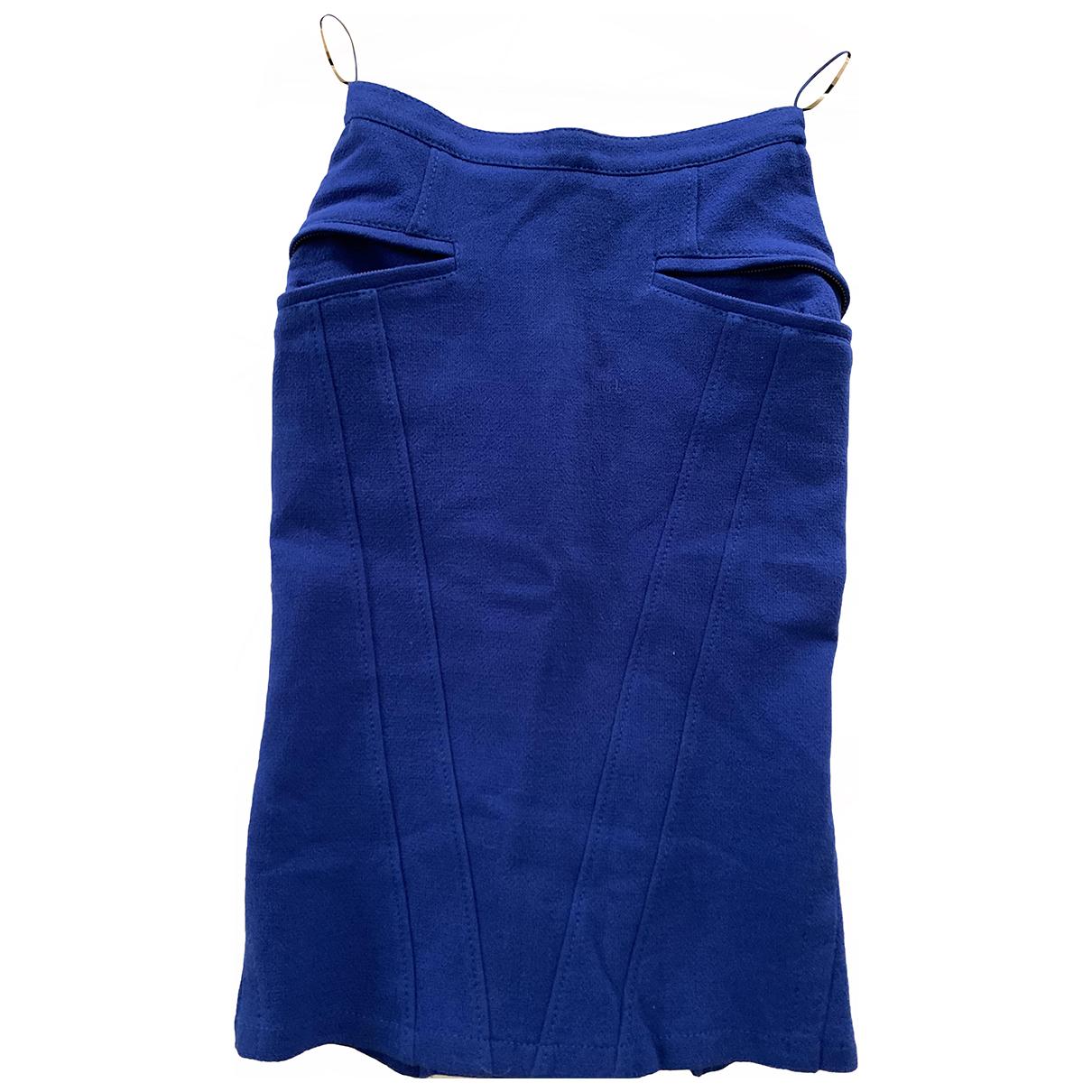 Strenesse \N Rocke in  Blau Wolle