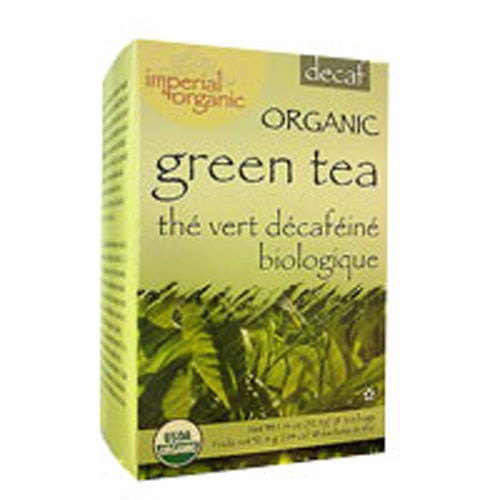 Imperial Organic Green Tea Decaffeinated 18 CT by Uncle Lees Teas