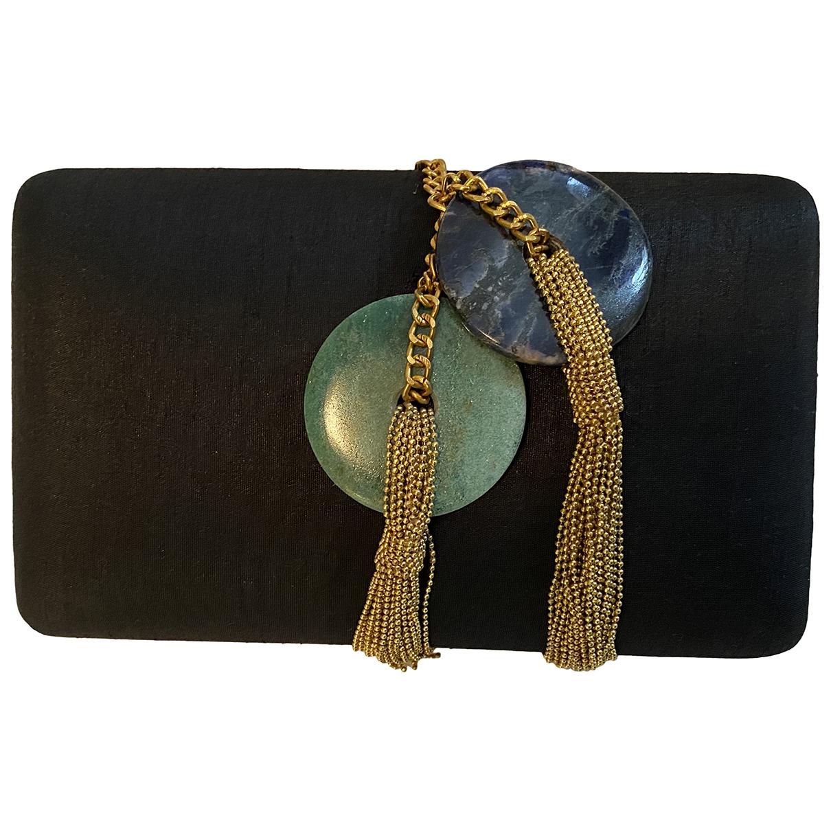 Autre Marque N Black Silk Clutch bag for Women N