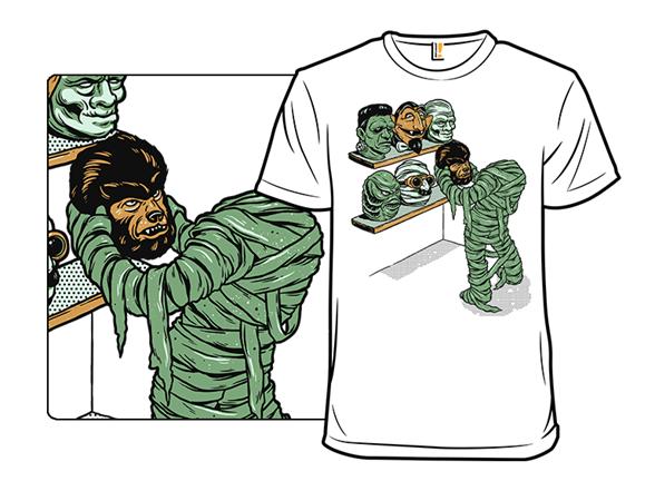 Put On A Monster Face T Shirt