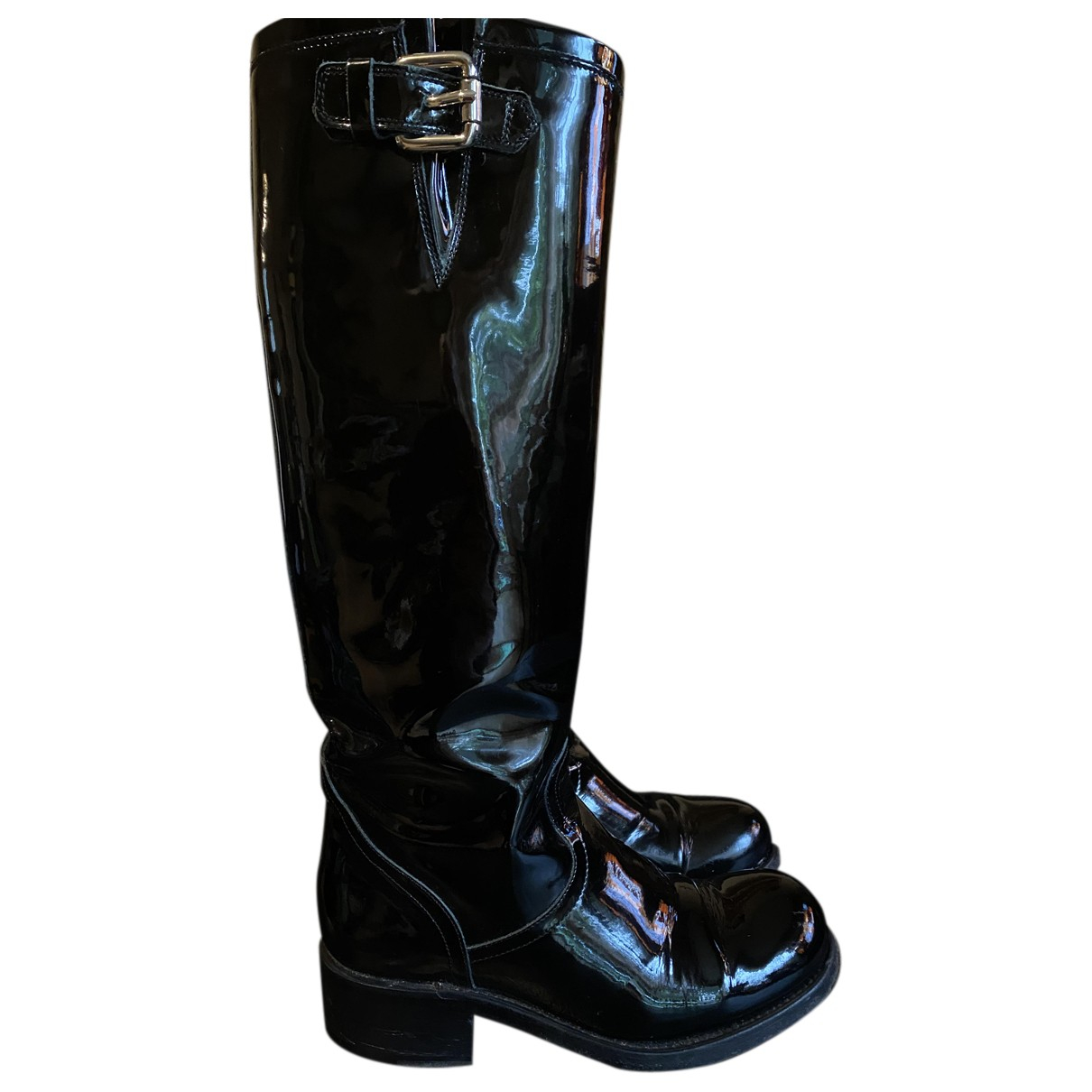 Free Lance N Black Patent leather Boots for Women 36 EU