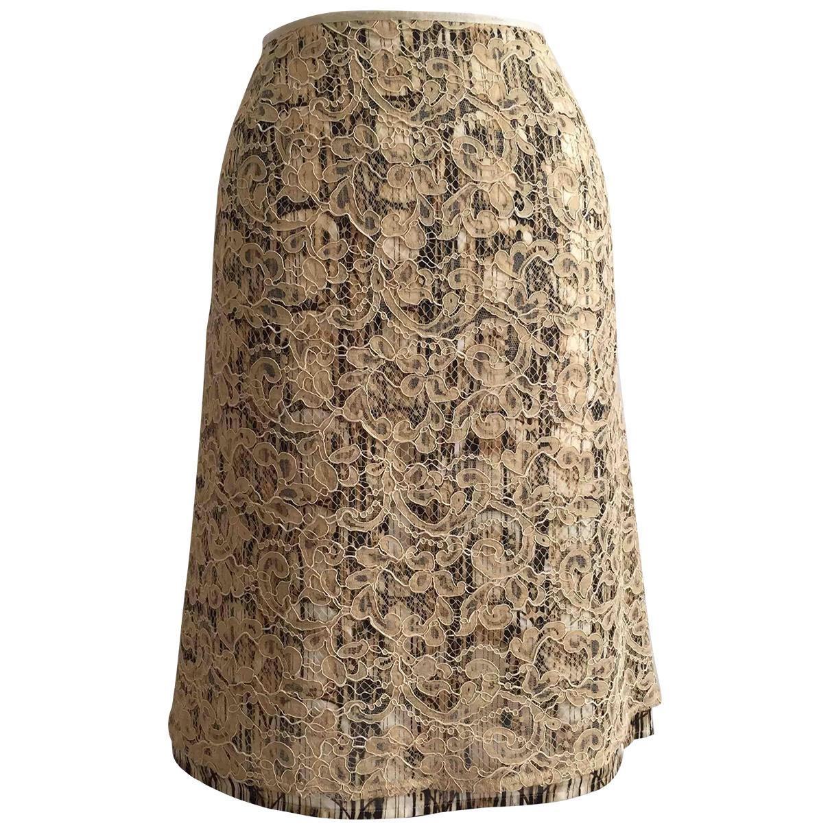 Kenzo \N Rocke in  Beige Baumwolle