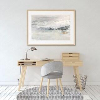 X-RAY SHIBORI Office Mat By Kavka Designs (Grey)