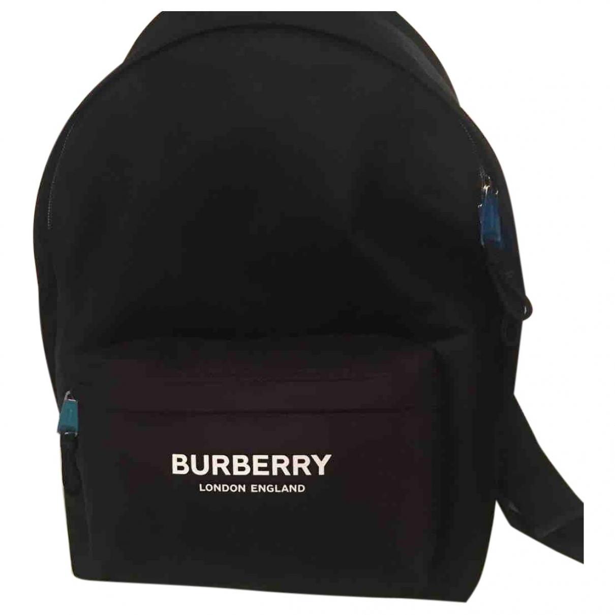 Burberry - Sac a dos   pour femme - noir
