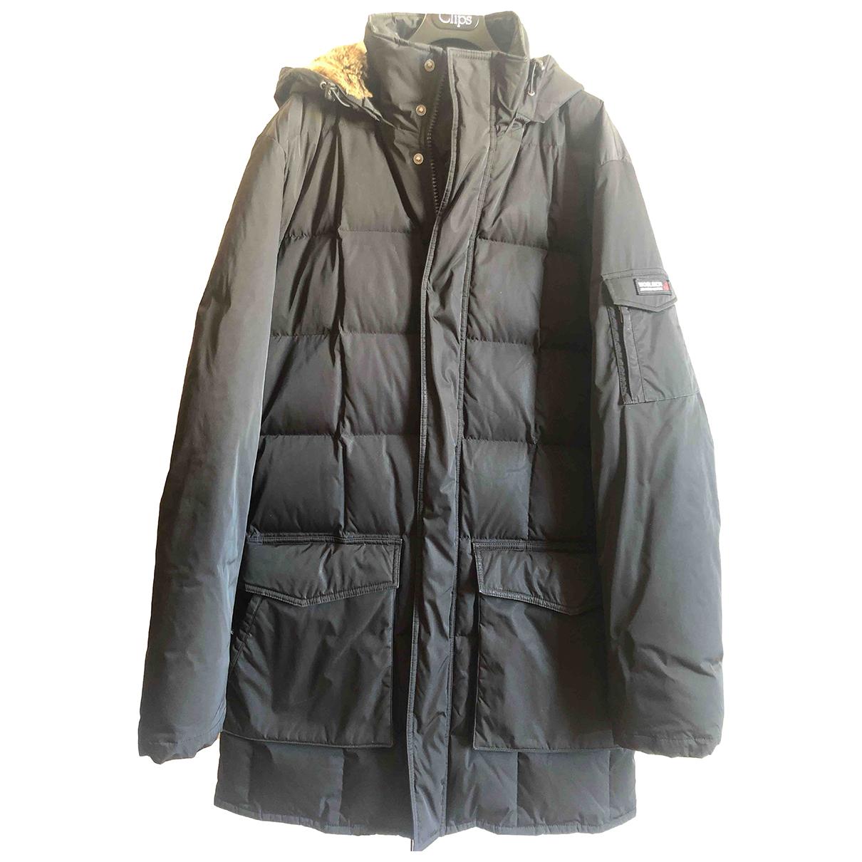 Woolrich - Manteau   pour homme - noir