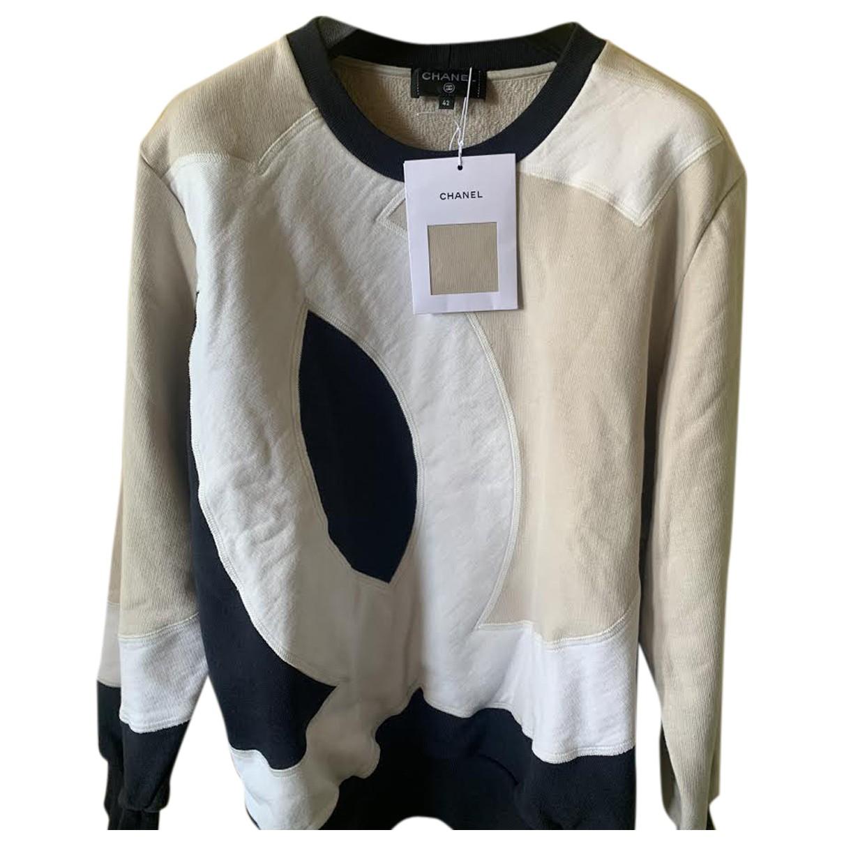 Chanel \N Beige Wool Knitwear for Women 42 FR
