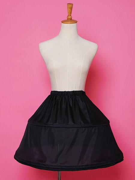 Milanoo Falda enagua de Lolita deshuesada un vestido de crinolina linea