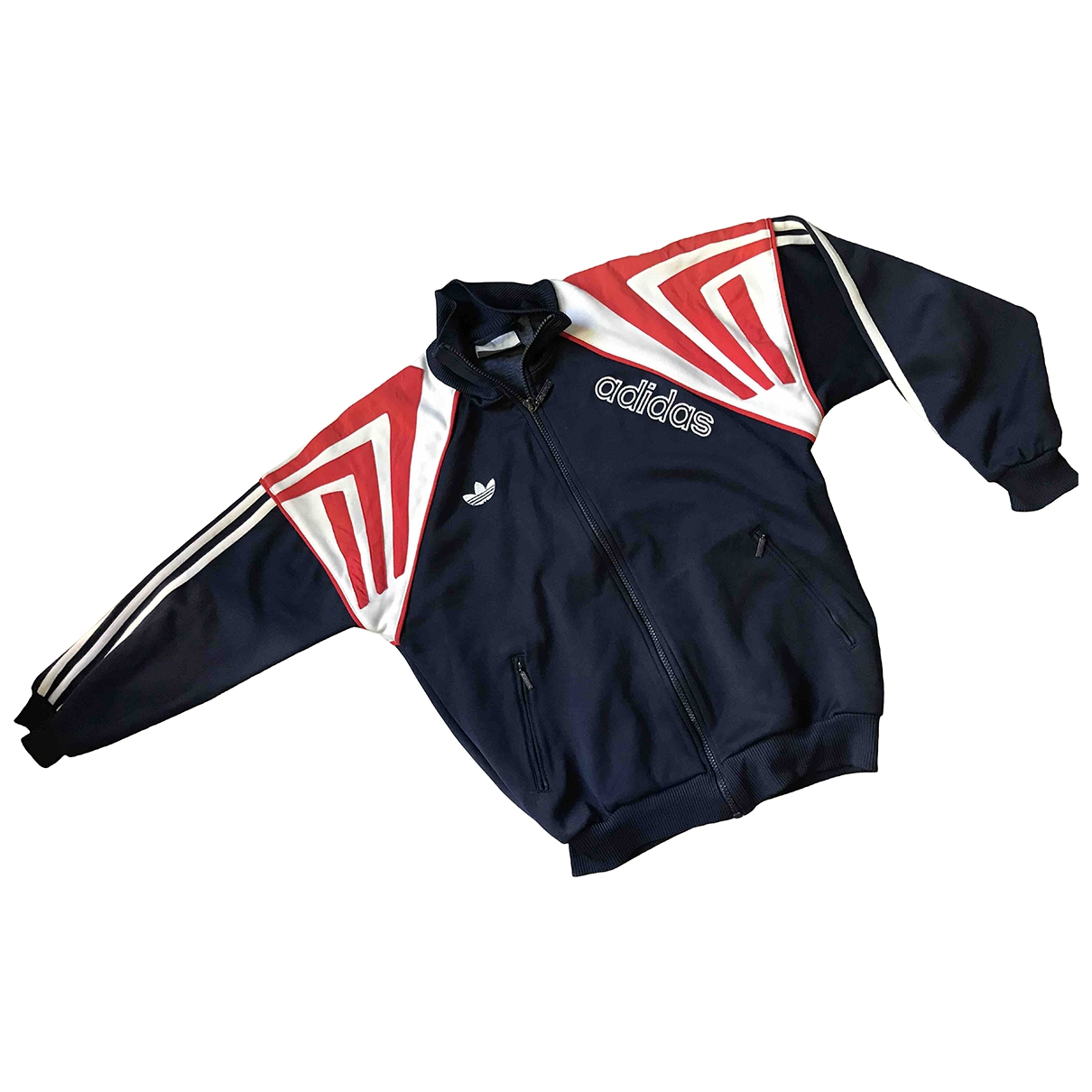 Adidas \N Navy Cotton jacket for Women 36 FR