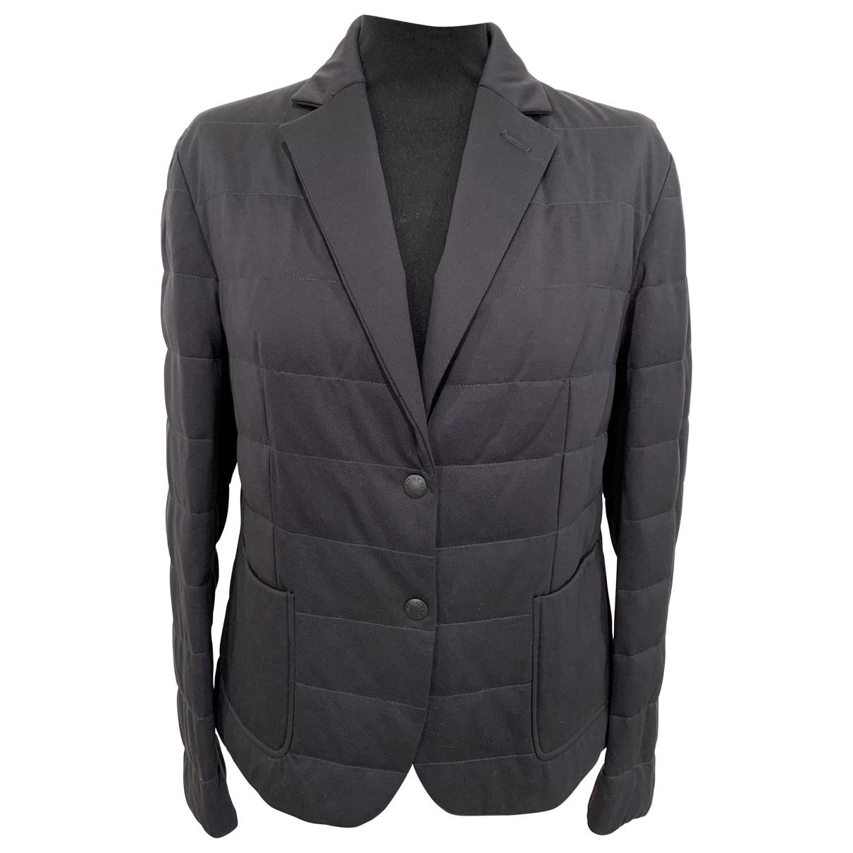 Moncler \N Jacke in  Grau Polyester